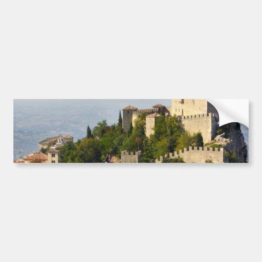 Fortaleza de di San Marino de Città, Italia Adesivo