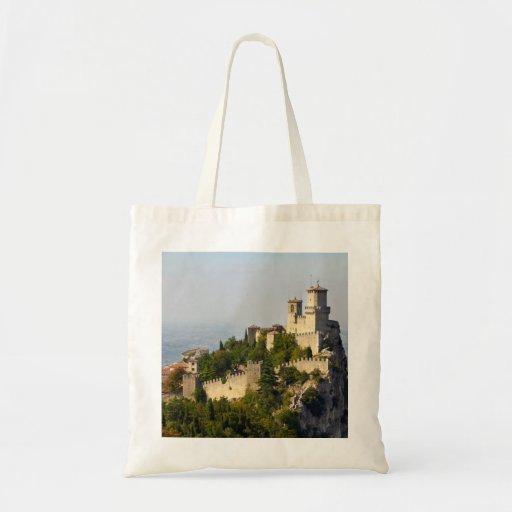 Fortaleza de di San Marino de Città, Italia Bolsas Para Compras