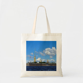 Fortaleza de St Petersburg, de Peter e de Paul Sacola Tote Budget