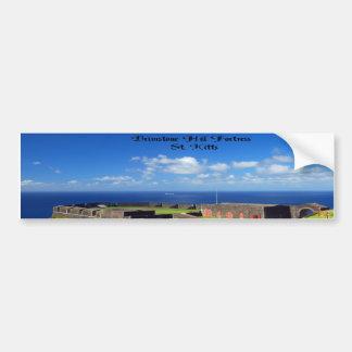 Fortaleza do monte do Brimstone, St. Kitts Adesivo Para Carro