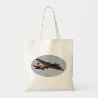 Fortaleza do vôo B-17 Sacola Tote Budget