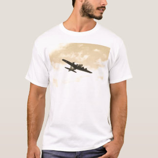 Fortaleza do vôo em vôo camiseta