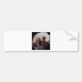 Fortaleza e justiça por Giovanni Battista Tiepolo Adesivo Para Carro