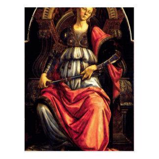 Fortaleza por Sandro Botticelli Cartão Postal