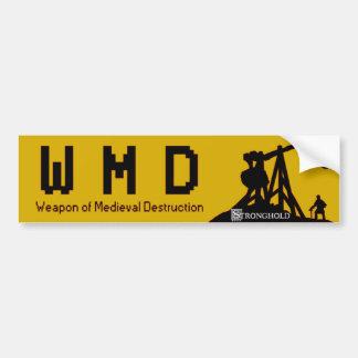 Fortaleza - WMD Adesivo Para Carro