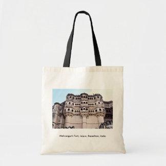 Forte de Mehrangarh, Jaipur, Rajasthan, India Bolsas De Lona