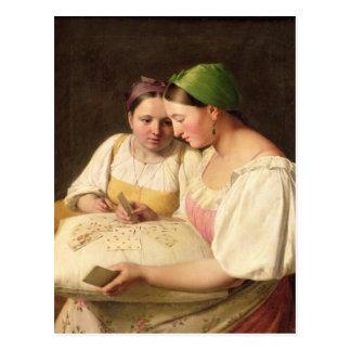 Fortuna-Dizer, 1842 Cartão Postal