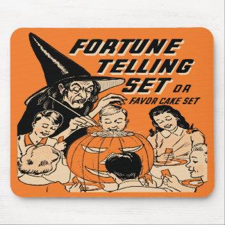 Fortuna do Dia das Bruxas do vintage que diz o Mouse Pad