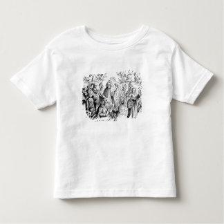 Fortuna dos ciganos que diz, após um woodcut 'em tshirts