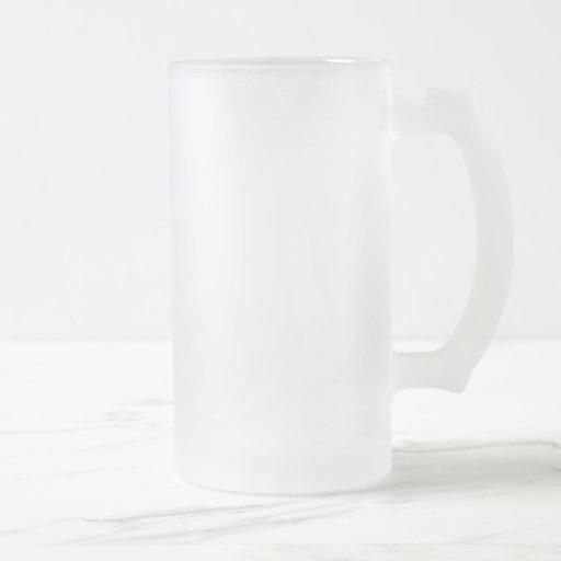 Fosco 473 ml Caneca de vidro fosco