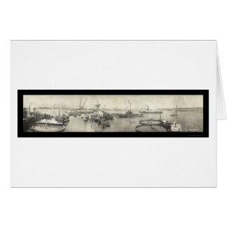 Foto 1911 de USS Maine Havana Cuba Cartão