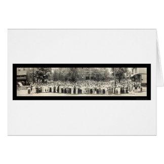 Foto 1914 da catequese do OH do cantão Cartão Comemorativo