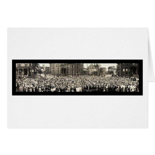 Foto 1914 de Chicago da catequese Cartão