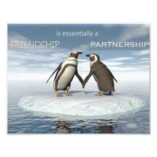 Foto A amizade é essentailly uma parceria