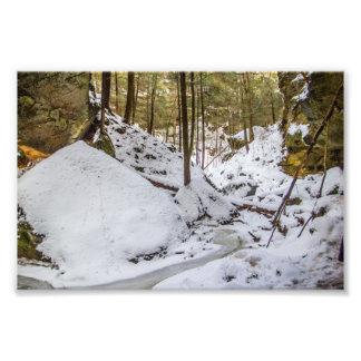 Foto A cavidade de Conkle no inverno