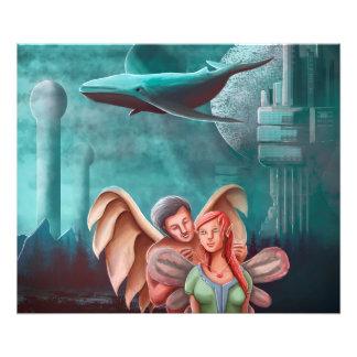 Foto A colar do anjo e a princesa Fada