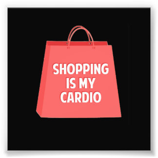 Foto A compra é meu cardio-