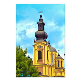 Foto A igreja da catedral da natividade Sarajevo