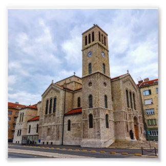 Foto A igreja de St Joseph em Sarajevo. Bósnia e Herz