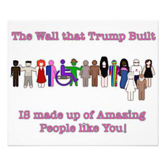 Foto A parede que o trunfo construiu