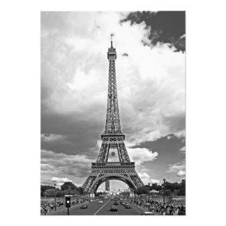 Foto A ponte de Jena com uma vista da torre Eiffel