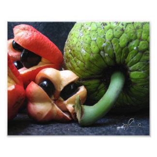 Foto Ackee e frutas-pão