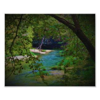 Foto Água azul