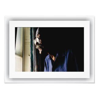 Foto Americana - vizinho, impressão do cetim