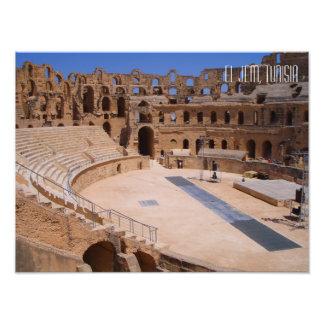 Foto Anfiteatro Tunísia do EL Jem Colosseum