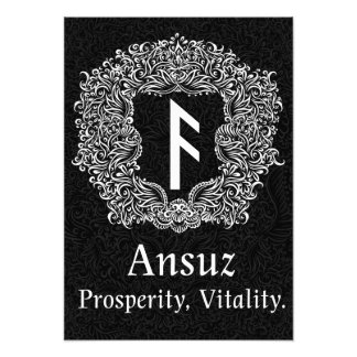 Foto Ansuz-rune/prosperidade, vitalidade