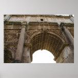 FOTO antiga de Roma: POSTER romano do fórum