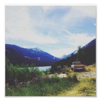 Foto Ar da montanha