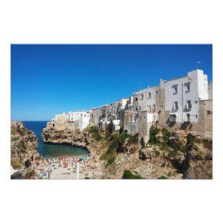 Foto Arquiteto do marco da praia de Bari Italia da égua