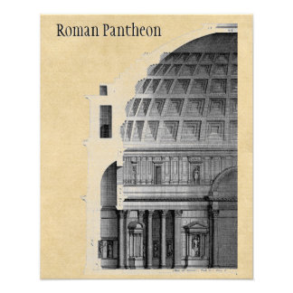 Foto Arquitetura clássica do panteão romano