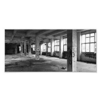 Foto Arquitetura urbana abandonada - espaços interiores