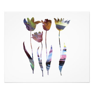Foto Arte das tulipas