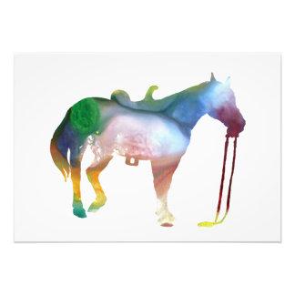 Foto Arte do cavalo