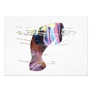 Foto Arte do peixe-boi