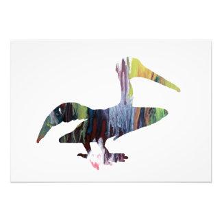 Foto Arte do pelicano
