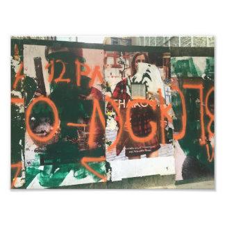 Foto Arte urbana de Spraypaint dos grafites do distrito