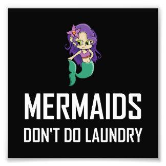 Foto As sereias não fazem a lavanderia