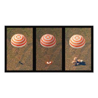 Foto Aterragem do espaço - aterragem