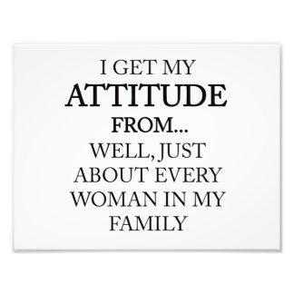 Foto Atitude da família