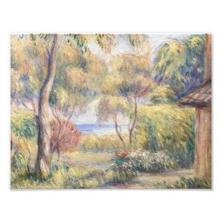 Foto Auguste Renoir - Paysage um Cagnes