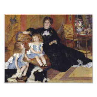 Foto Auguste Renoir - senhora Georges Charpentier