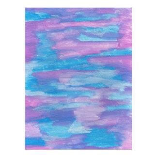 Foto Azul e arte abstracta roxa do redemoinho