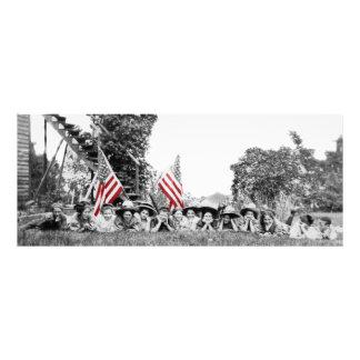 Foto Bandeira americana das mulheres patrióticas do