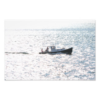 Foto Barco do piquenique no mar