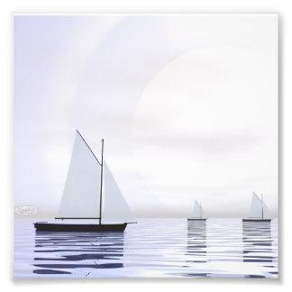 Foto Barcos de navigação - 3D rendem