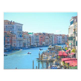Foto Barcos nos canais de Veneza Italia